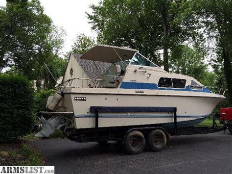 Cabin Cruiser Fishing Boat For Sale by Armslist For Sale Trade 25 Cabin Cruiser Deep Sea