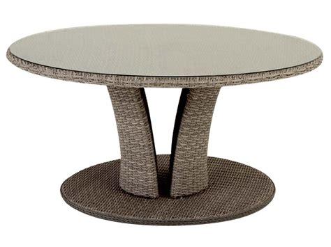 table de jardin hesp 233 ride r 233 sine ronde tress 233 e libertad taupe