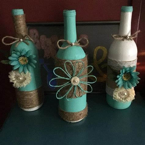 17 best ideas about wine bottle wrapping on decorating wine bottles wine bottle