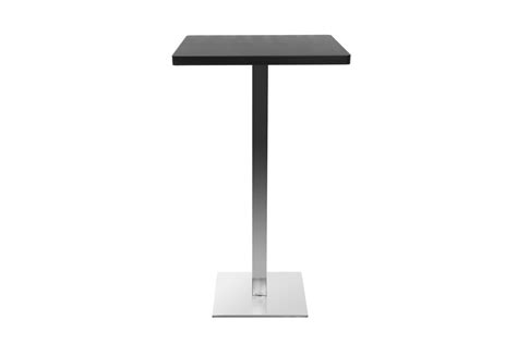 table de bar design carr 233 pied central jory miliboo