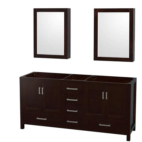 wyndham collection sheffield 70 inch vanity cabinet with mirror medicine cabinets in