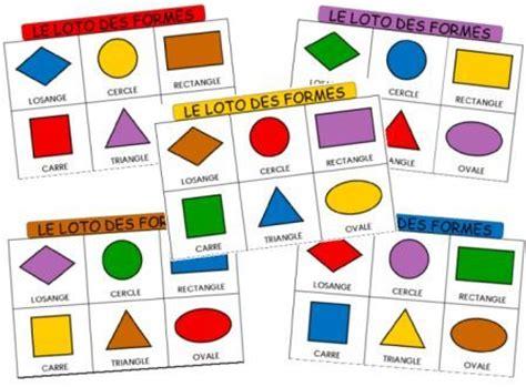 le loto des formes g 233 om 233 triques et des couleurs dessine moi une histoire