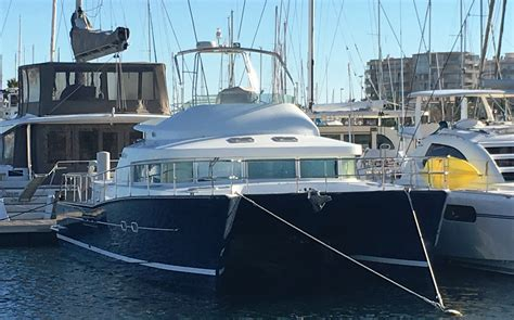 Catamaran A Vendre Suisse by Achat Vente Catamarans Occasion Lagoon Power 43