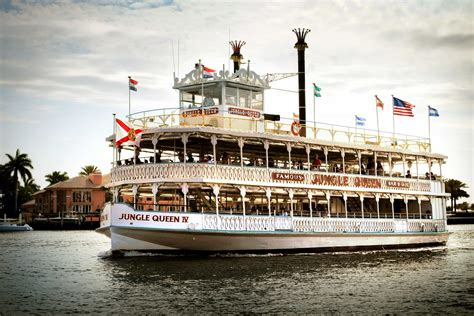 Mississippi Queen Riverboat Cruises by Take A Jungle Queen Riverboat Cruise Miami Beach Travel