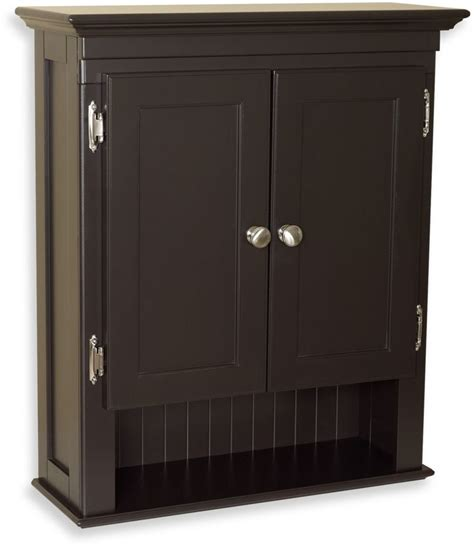 bed bath beyond fairmont wall mounted cabinet in espresso shopstyle