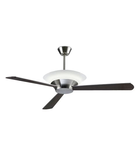 modern remote controlled ceiling fan with uplight in silver grey finish