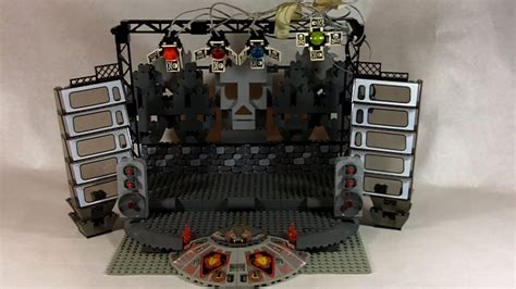 How To Build Lego Concert Stage Youtube