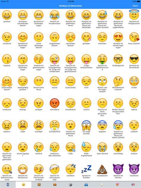 """""""emoji Bedeutungen"""