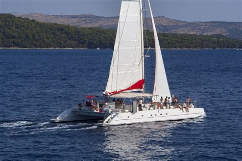 Catamaran Excursion Croatia by Orvas Yachting Gives You The Possibility To Discover
