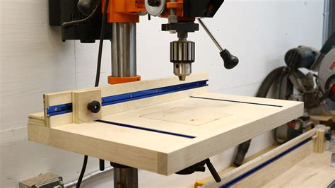 How To Build A Simple Drill Press Table  The Average. Custom Made Computer Desk. Desk Fish Tank Office. Solid Wood 2 Drawer File Cabinet. Monitor Stand With Drawers. Leaf Table. Reloading Table. Platform Beds With Drawers Underneath. Desk With Metal Legs
