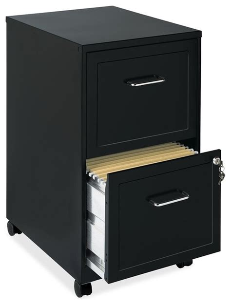 Lorell File Cabinet 3 Drawer by Lorell Soho 18 2 Drawer Mobile Cabinet 14 3 Quot X18 Quot X24 5