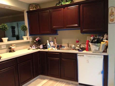 general finishes java gel stain kitchen cabinets home