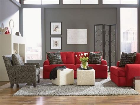 Red Sofa Living Room Vibrant Red Sofa Living Room Stylish Natural Linoleum Flooring Canada Travertine For Bathroom Laying Laminate Expansion Gap Marble Reviews Brick Floor In Garage Stone Pros And Cons Jakarta Teak Anderson Alto Ga