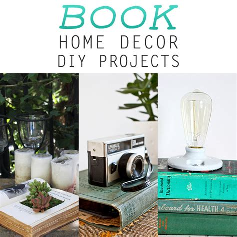 book home decor diy projects the cottage market