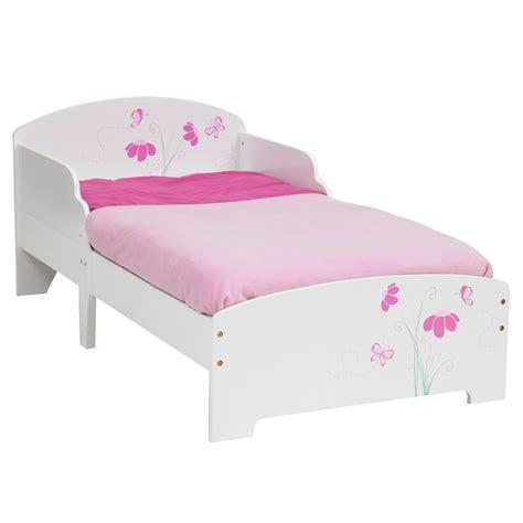 butterflies flowers mdf toddler bed mattress ebay
