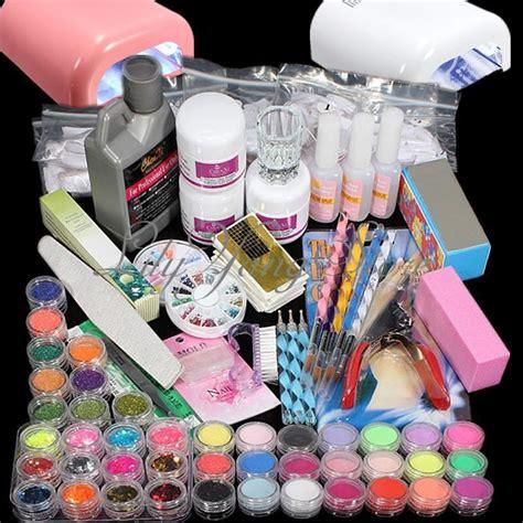 kit le timing glitter poudre acrylique gel uv ongles d 233 cor manucure nail ebay