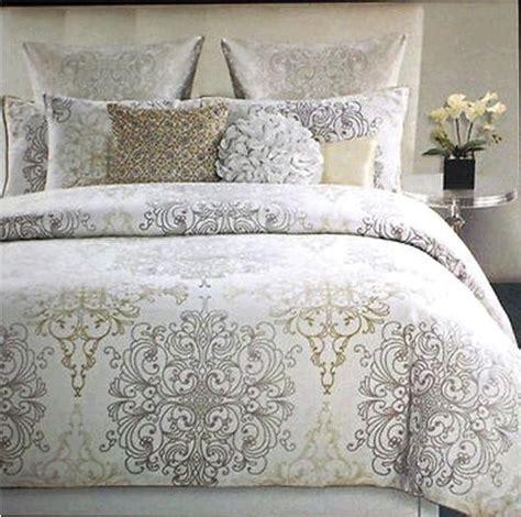 new comforter tahari medallion scroll comforter set