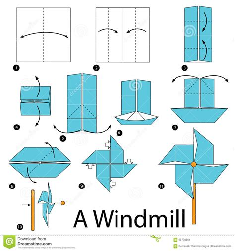 How To Make A Paper Ninja Boat by Instructions 233 Tape Par 233 Tape Comment Faire 224 Origami Un