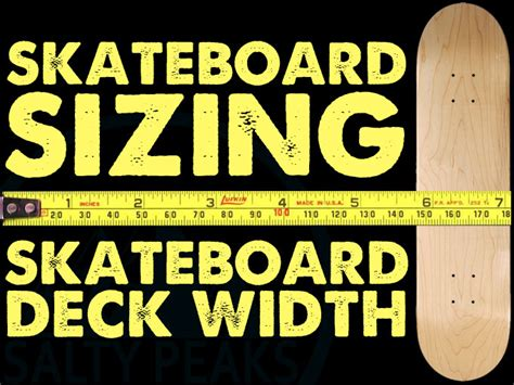 How To Size A Skateboard