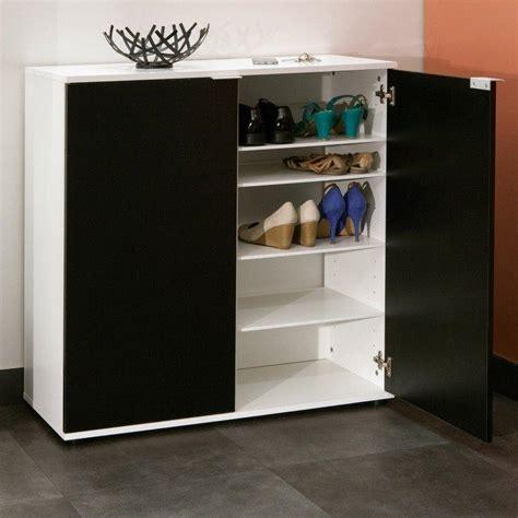 meubles chaussures meubles et rangements meuble 224 chaussures class design blanche 2 portes