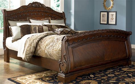 shore california king size sleigh bed from