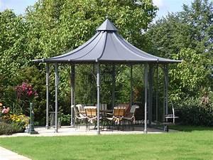 Dach Für Gartenpavillon : gartenpavillon aus metall mit dach aktuelletrends ~ Markanthonyermac.com Haus und Dekorationen