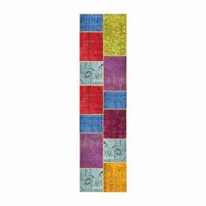 Teppich Aus Wolle : burling teppich aus wolle 80x300 bunt habitat ~ Markanthonyermac.com Haus und Dekorationen