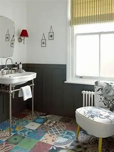 Vintage Fliesen Bad : die besten 78 ideen zu badezimmer mit mosaik fliesen auf pinterest mosaisches badezimmer und ~ Markanthonyermac.com Haus und Dekorationen