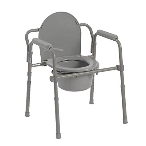 toilet seat potty commode chair bedside folding bariatric drop arm safety ebay