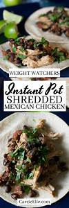 Shredded Mexican Chicken: Instant Pot - 21 Day Fix ...