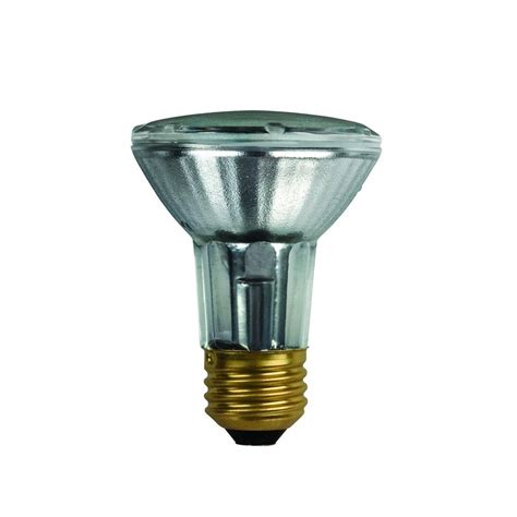 philips 50 watt halogen par20 soft white 2700k spot light bulb 425124 the home depot