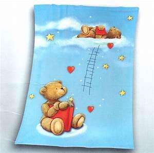 Kuscheldecke Für Baby : baby flausch decke babydecke kinder kuscheldecke 75 x 100 blau beige gelb rosa ebay ~ Markanthonyermac.com Haus und Dekorationen