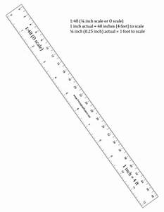 To Scale Inch : hobbyist quarter inch scale ruler printable ruler ~ Markanthonyermac.com Haus und Dekorationen