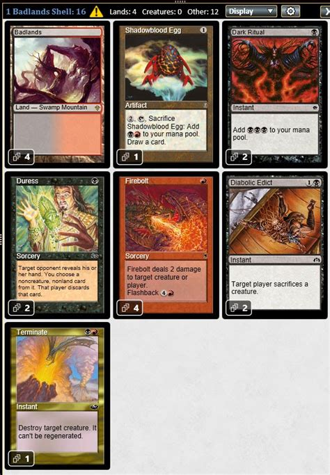 Psychatog Deck Legacy 2015 by Magic The Gathering Adventures Five Legacy Stash Deck Shells