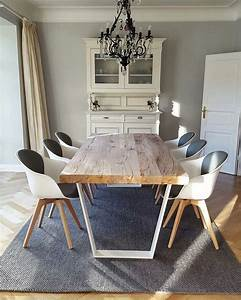 Esstisch Helles Holz : betontisch esstisch modern massiv holz auf beton nach ma holzwerk hamburg wohnzimmer ~ Markanthonyermac.com Haus und Dekorationen