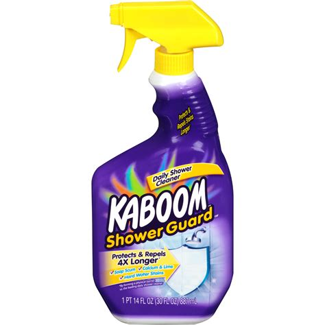 757037350218 upc kaboom daily shower cleaner plus shower guard upc lookup