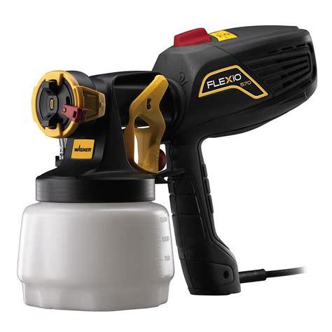 shop wagner flexio 570 handheld hvlp paint sprayer at lowes