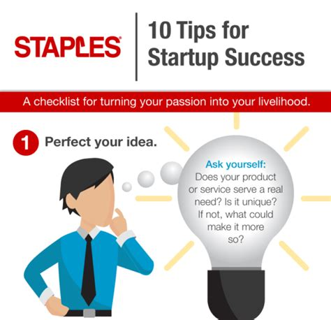 10 Tips For Startup Success (infographic) Beachside