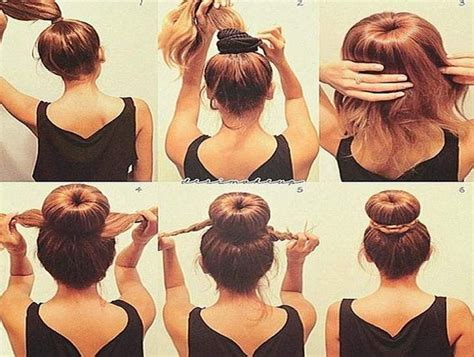 Easy Updos For Medium Length Hair Step By Step
