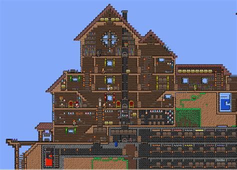 25 best ideas about big houses on big houses terraria on terrarium castles and winter cabin