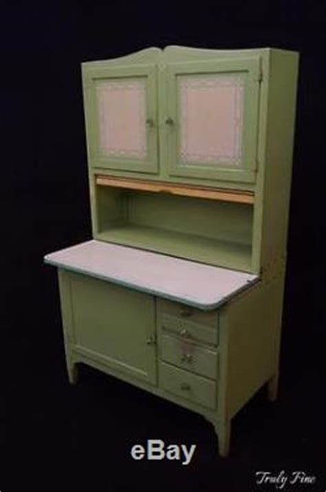 jadeite green hoosier sellers kitchen cabinet bakers