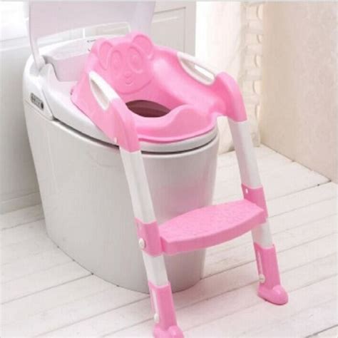 baby potty seat with ladder children toilet seat cover toilet folding infant potty chair