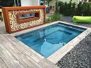 Kleiner Garten Mit Pool Gestalten : kleiner pool im garten pool f r kleine grundst cke pool pinterest kleiner pool garten ~ Markanthonyermac.com Haus und Dekorationen