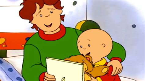 Caillou Spends Time With Dad