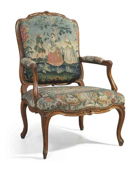 a louis xv beechwood fauteuil by charles francois normand circa 1740 christie s