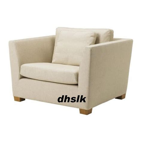 ikea stockholm armchair slipcover chair cover gammelbo beige bezug housse
