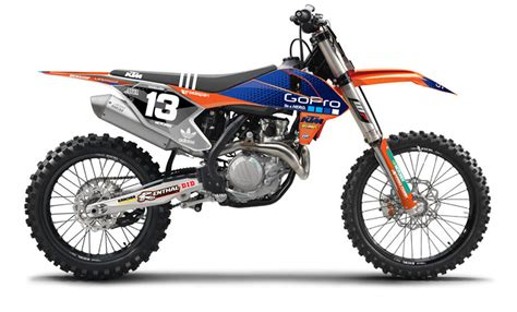 kit d 233 co complet troy ktm n style n40 5720