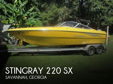 Boat Trailers For Sale In Savannah Ga by Stingray 220 Sx For Sale In Savannah Ga For 18 500 Pop