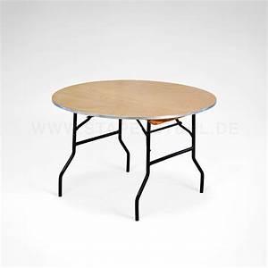 Tischplatte Rund 120 Cm : klapptisch rund banketttisch gastro tisch mehrzwecktisch 150 cm durchmesser eventservice ~ Markanthonyermac.com Haus und Dekorationen
