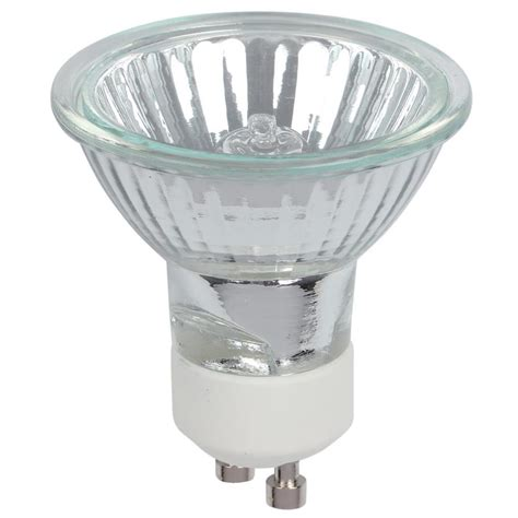 westinghouse 50 watt halogen mr16 clear lens gu10 base flood light bulb 3 pack 0473000 the